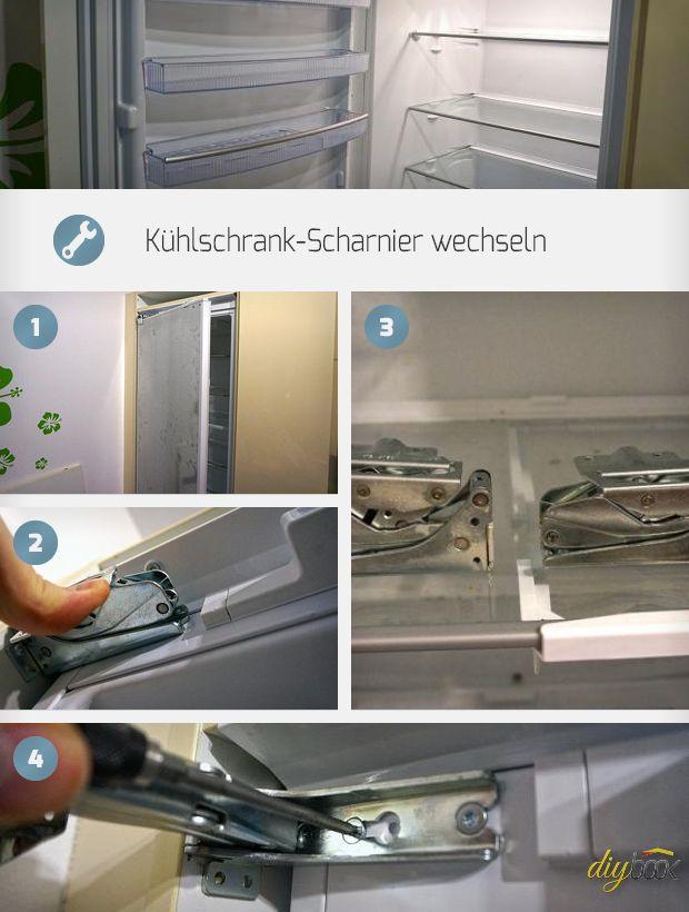 Ein defektes Kühlschrank-Scharnier wechseln reicht oft aus, und in der Küche läuft wieder alles rund. Wir zeigen, wie das Kühlschrank-Scharnier Wechseln gelingt.