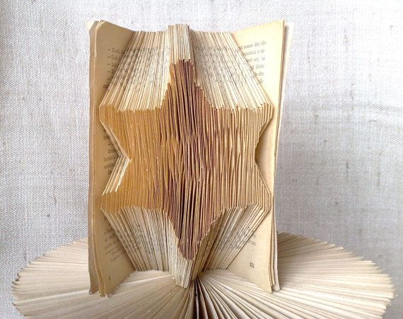 Book folding pattern and FREE Tutorial  Sheriff by PatternsStore