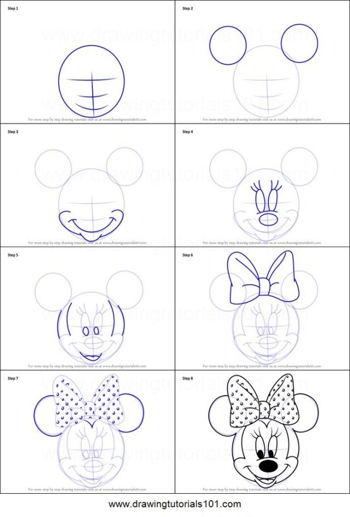 10 Disney How To Drawings
