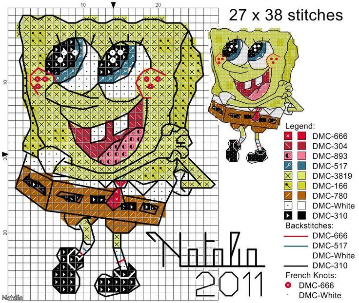 22 Best Images About Spongebob On Pinterest Perler Bead
