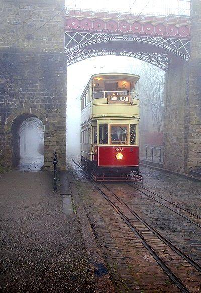 Foggy Tramway, #Derbyshire, England