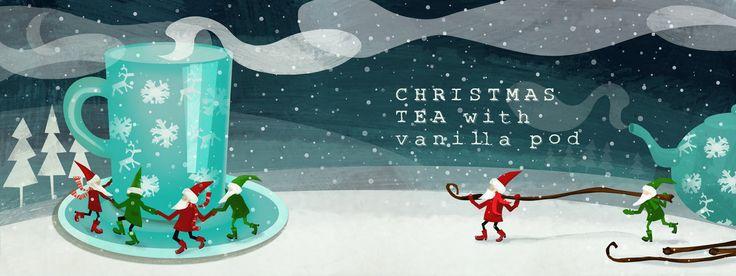 Christmas Tea With Vanilla Pod<span class='title_artist'> by Patrycja Lapatiq</span>