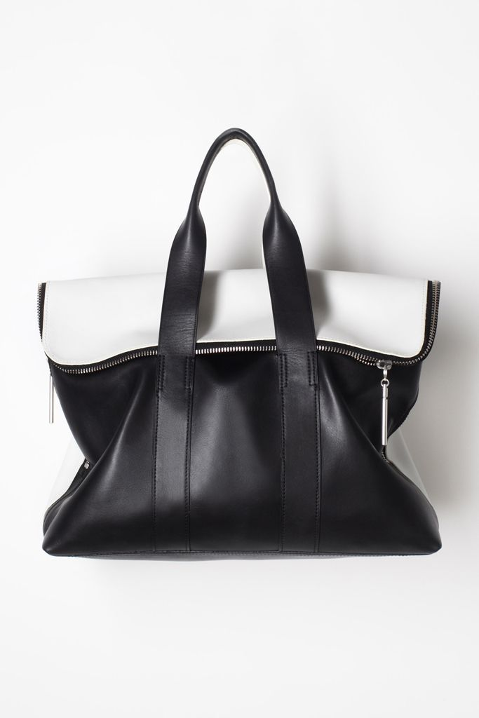 Black & white from Phillip Lim - ladies handbags online, designer handbag brands, hidesign handbags *ad