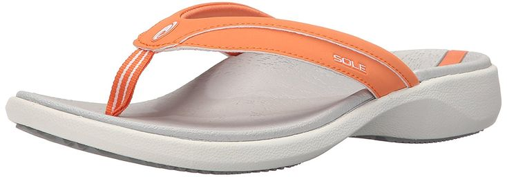 SOLE Women's Sport Flip Flip Flop sandal * You can get more details by clicking on the image.