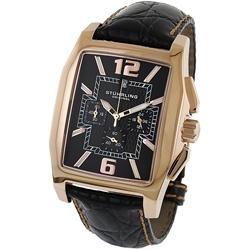 Stuhrling Original 'Charing Cross' Men's Rose Gold Watch
