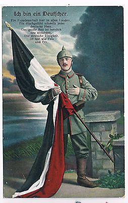 WWI, German postcard