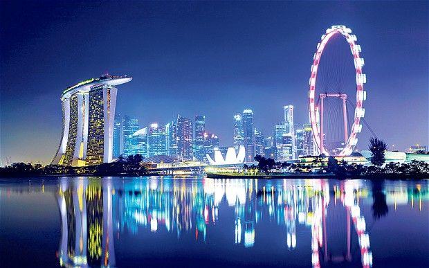 Singapore - cele mai vizitate oraşe din lume