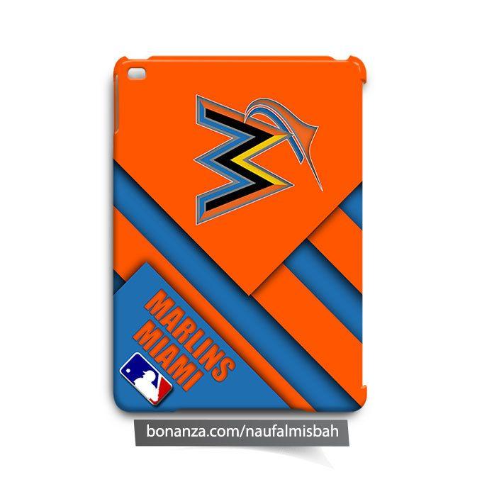 Miami Marlins Cool iPad Air Mini 2 3 4 Case Cover