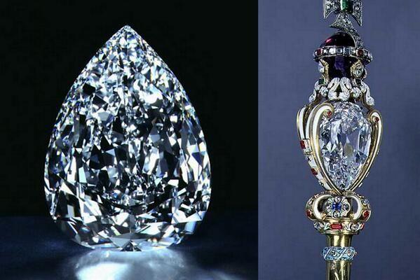 Diamante Estrella de África.