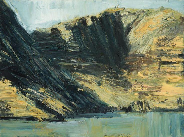 thunderstruck9: Euan Macleod (New Zealand/Australian, b. 1956), From Diamond Harbour, 1996. Oil on canvas, 38 x 51 cm.