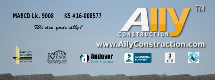 Ally Construction | Wichita Roofing, Remodeling, Maintenance and Restoration