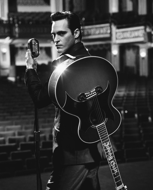 Joaquin Phoenix as Johnny Cash - 'Walk the Line', 2005....amazing movie and love Joaquin.