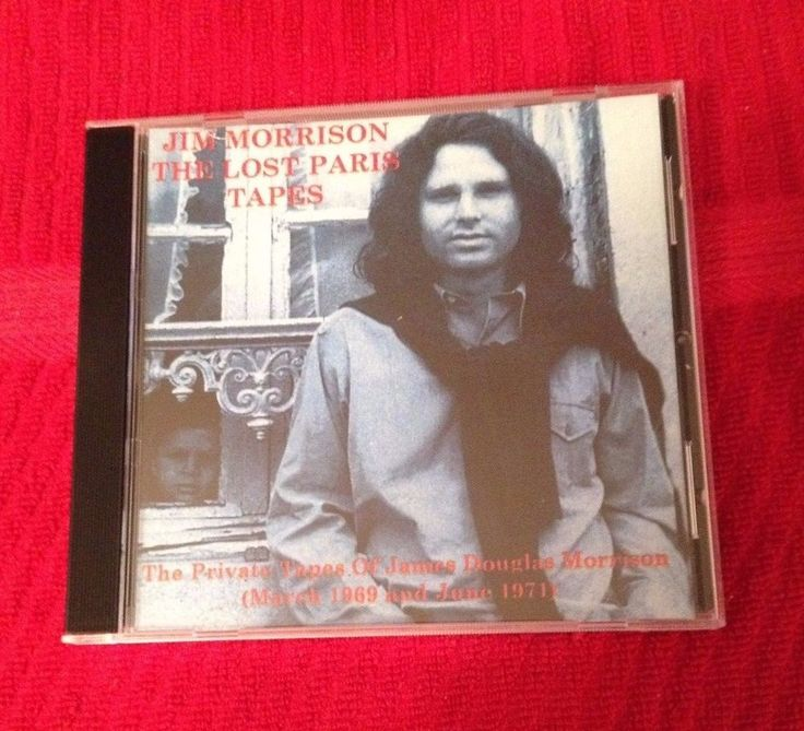 The Doors Jim Morrison The Lost Paris Tapes 1971 CD #thedoors #cd #rare #poetrysessions