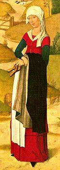 Gaspar Isenmann, The visitation  Munich 1460