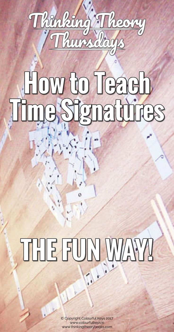 Save time in your lessons by flipping music theory, less stress for you, more fun for students. http://colourfulkeys.ie/how-to-teach-time-signatures-the-fun-way-piano-studio/