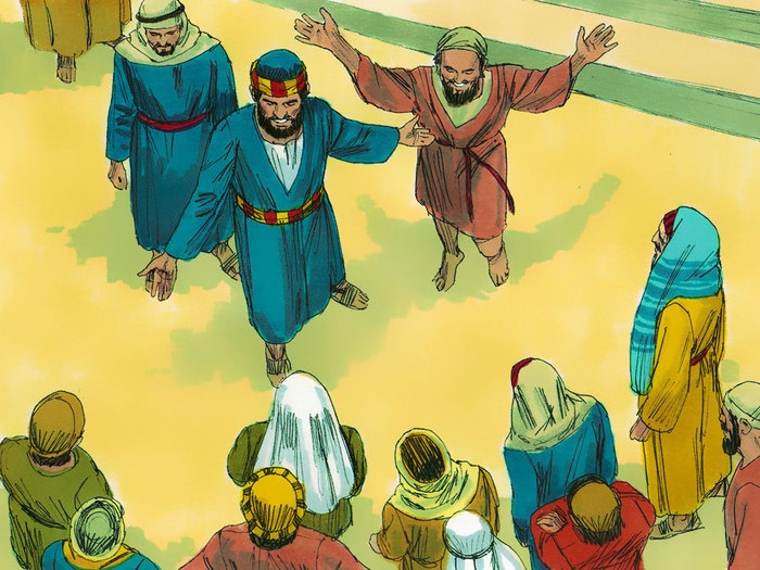 Free bible, Illustrations and Walking on Pinterest