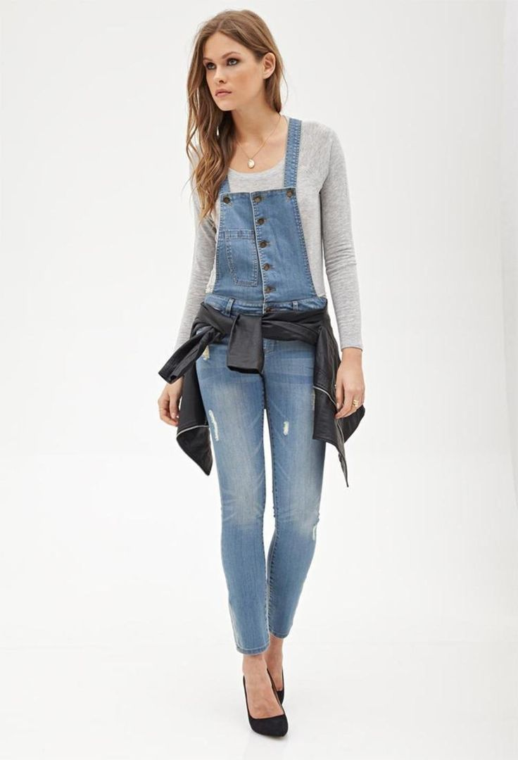 Jumpsuits And Denim Jumpsuits – The Choice Of Many Celebrities : Best Denim Jumpsuits For Women 1