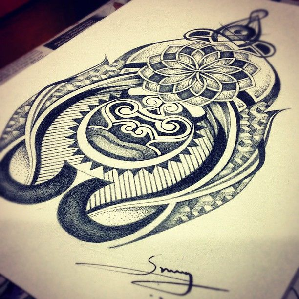 abstract dotwork tribal design sketch inspired by maori designs by sunny at aliens tattoo. Black Bedroom Furniture Sets. Home Design Ideas