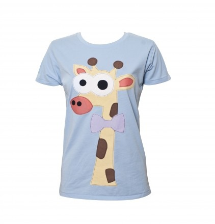 Giraffe Applique T Shirt by Not For Ponies at Bouf.com