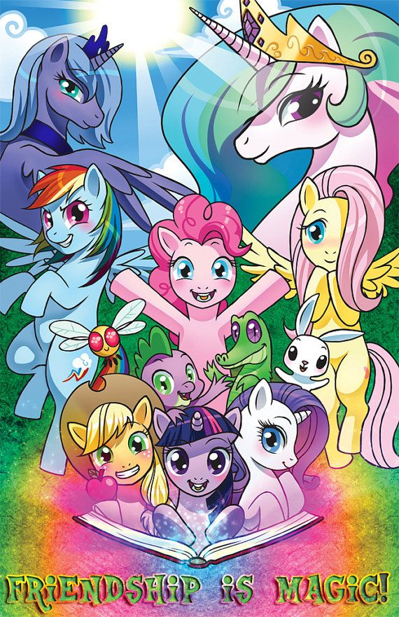 12x18 inch My Little Pony: Friendship is Magic Poster in Poly Tube ((2/10))