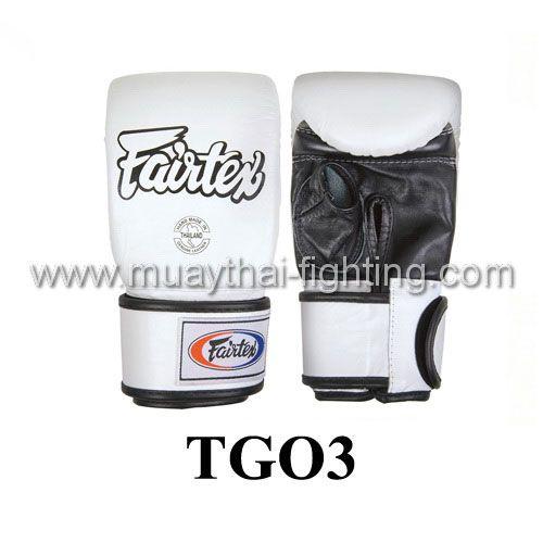 Fairtex Super Sparring Gloves Open Thumb TGO3