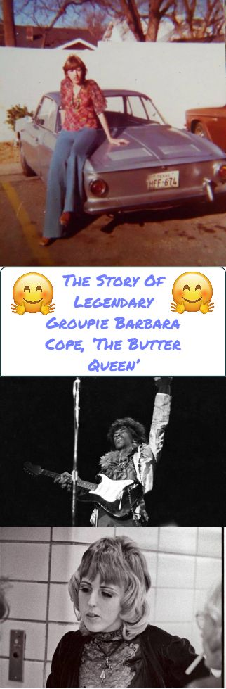 Why Legendary Groupie 'The Butter Queen' Had Rock Gods Like Hendrix And Jagger Singing Her Praises – Omg,Bizzarre,Weird