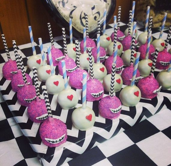 Alice In wonderland cake pops by PopsByLex on Etsy