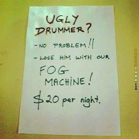 Ugly Drummer