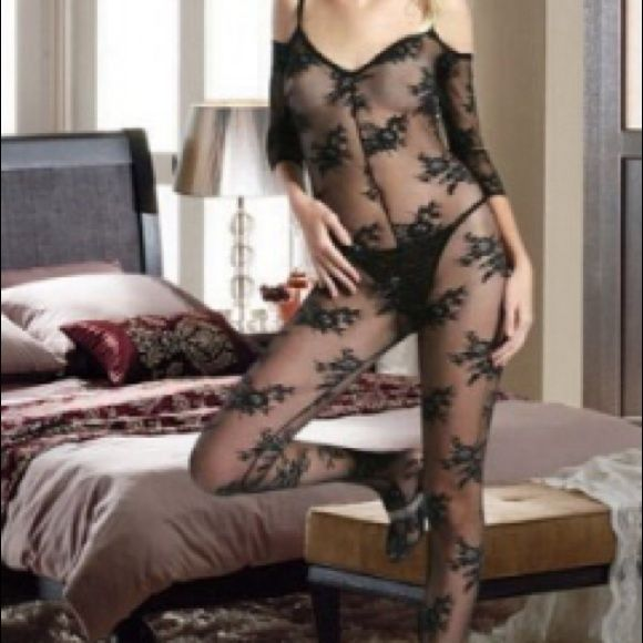"""BODY STOCKING Complete one piece body stocking. One size fits all. Fits up to a person who is 5' 5"""" tall to 5' 10"""" tall. Weighing 90lbs to 165lbs. Accessories"""