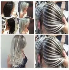 Resultado de imagen para mechas platinadas en todo el cabello