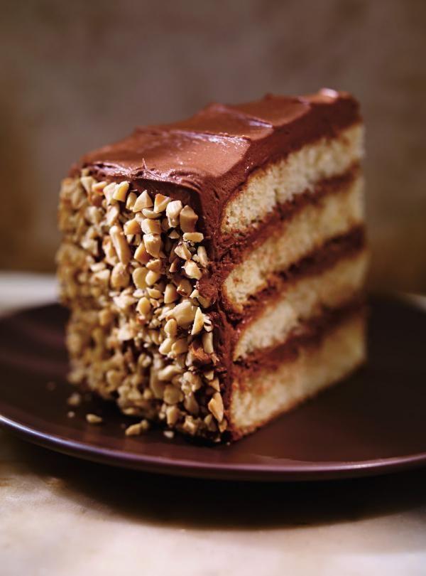Recette de Ricardod de gâteau aux noisettes, à l'orange et au chocolat (<i>Dobos torte</i>)