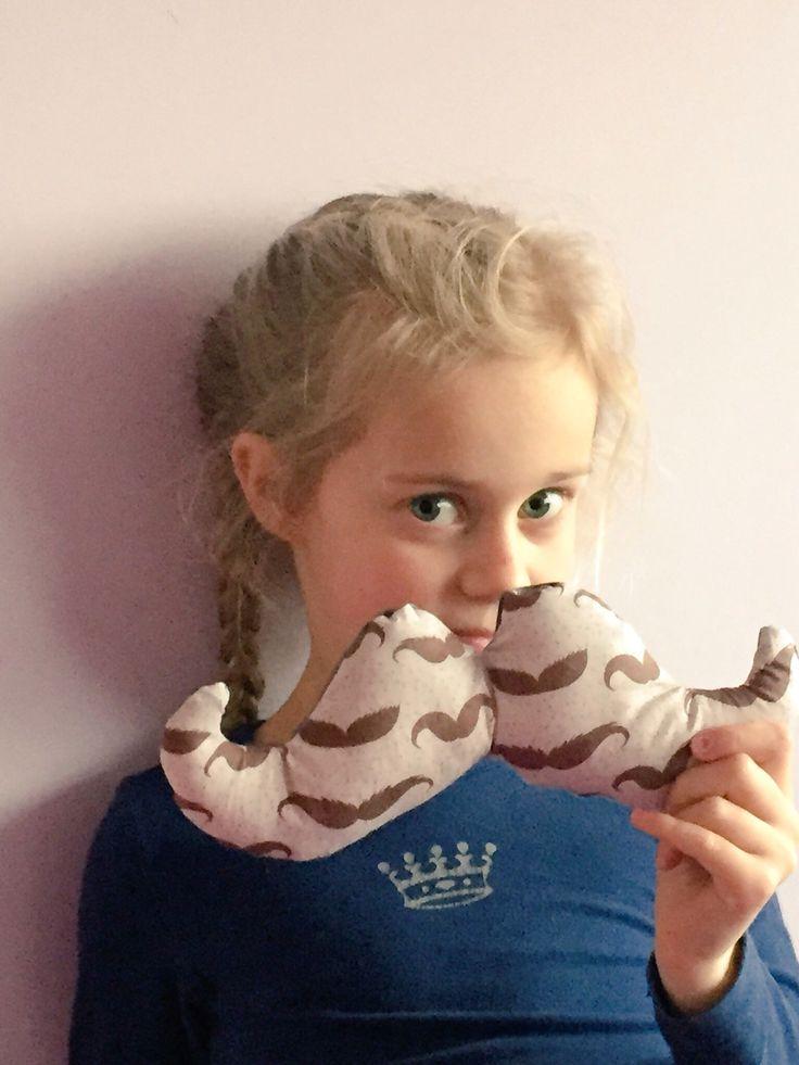 Kussen mustache moustache snor
