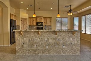 tile under kitchen bar kitchen islandbar wall ideas pinterest bar and kitchens - Wall Design Tiles