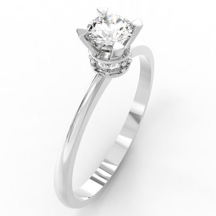 Inel cu diamante Someone special