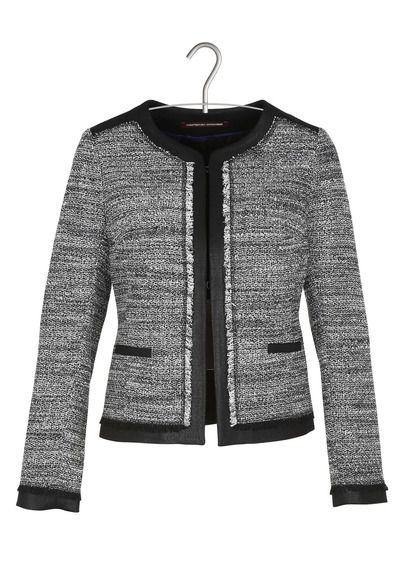 17 meilleures id es propos de vestes en tweed sur pinterest - Comptoir des cotonniers place des tendances ...