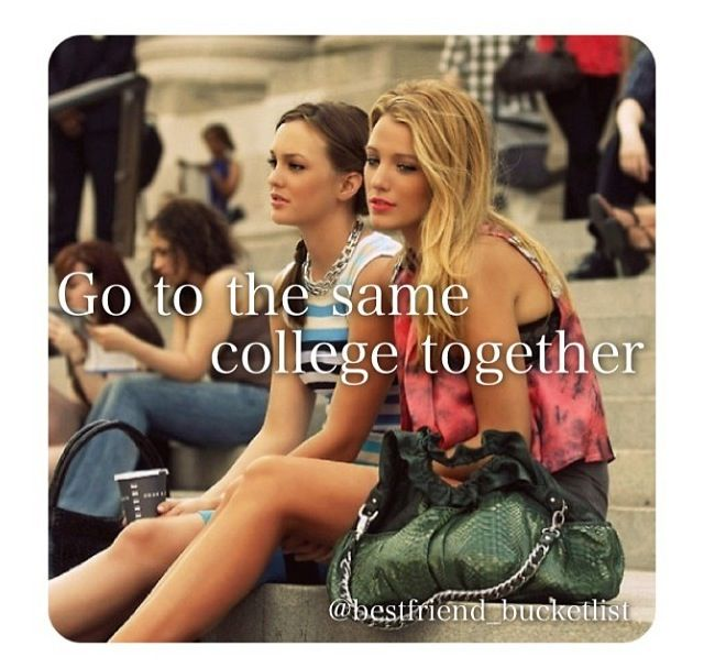 I would love this!! Best friend bucket list<3 hopefully, with some friends that went to diff school than me ;)