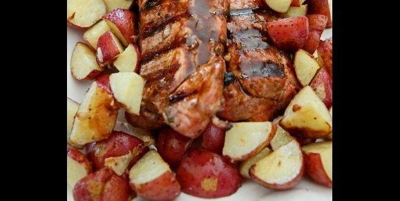 Filet de porc mariné au sirop d'érable (BBQ)