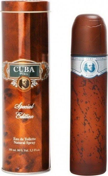 Το Cuba Blue από τον οίκο Cuba είναι ένα πικάντικο άρωμα για άνδρες. Αποκτήστε το eau de toilette 100ml, από το aromania.gr μόνο με 19,00€!  #aromania #CubaPerfume #CubaBlue #CubaBluePerfume