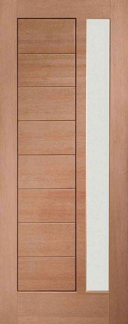 Modena Glazed Hardwood External Door