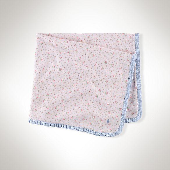 プリンテッド フローラル ジャージー ブランケット ・ 通販 キッズ ・ Baby(0-12か月) ・ ベビーギフト ・ 子供 洋服 | ベビー - Ralph Lauren Japan (ラルフローレン)