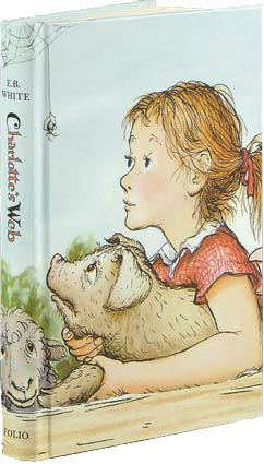 Folio Society Charlotte's Web. Another story to share with the kiddies :)