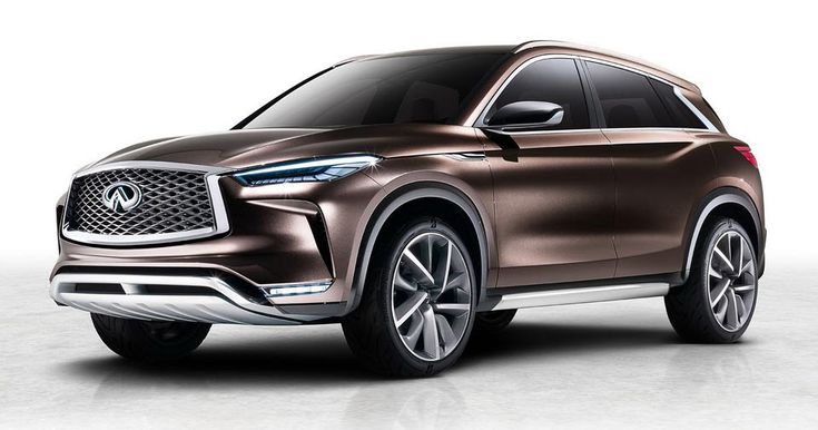 Infiniti To Unveil QX50 Concept At 2017 Detroit Auto Show #Autonomous #Concepts