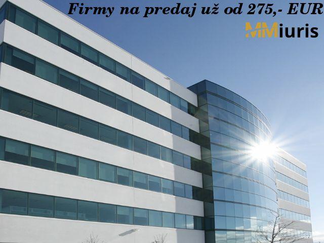 Firmy na predaj na zvýhodnenú úrokovou sadzbou http://goo.gl/B4lnnX