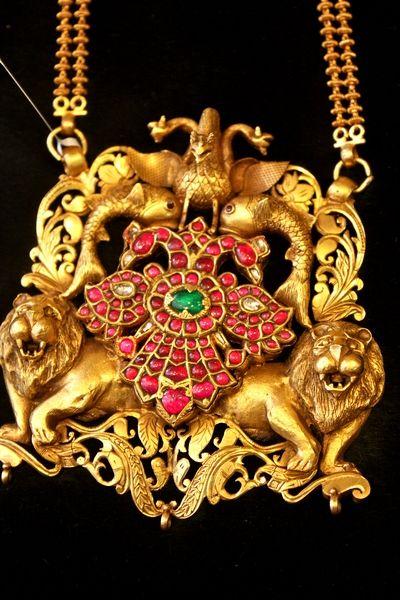 antique temple jewelry