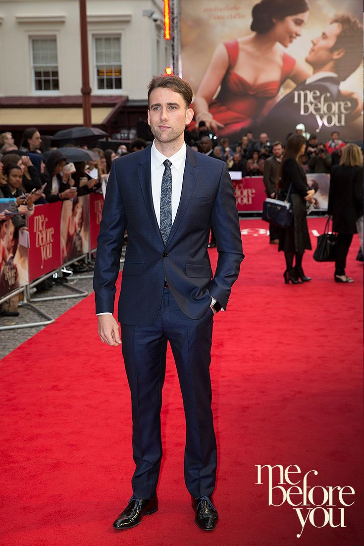 From Harry Potter sweetheart to Me Before You heart-throb, Matthew Lewis wows the crowd in his Ted Baker Suit at the premiere. Download, watch and fall in love with #MeBeforeYou - September 26. On DVD and Blu-Ray - October 10.