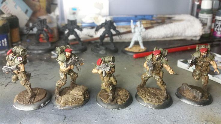 Imperial Blood Berets for Warzone Resurrection   por MadLarkin784