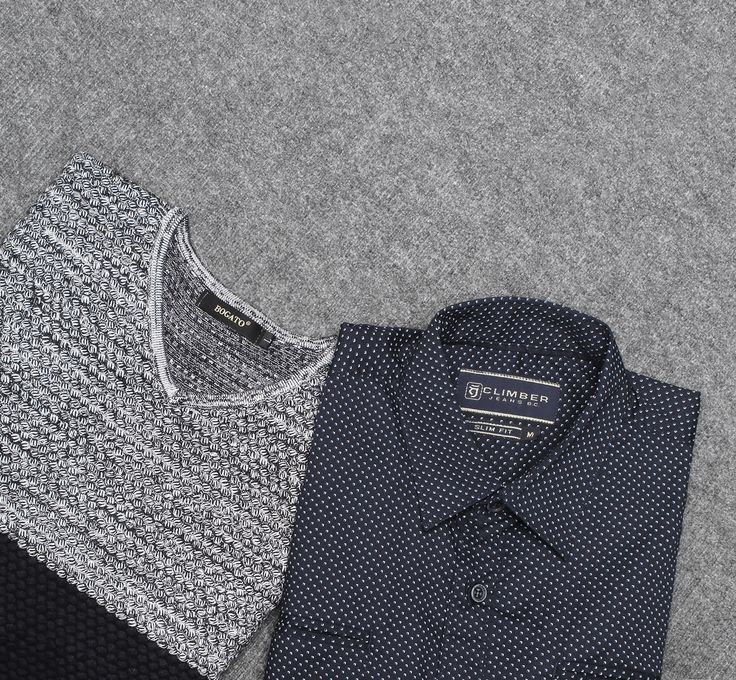Must have | Casual collection AW`16   Свитер с принтом - 2 599 ₽  Рубашка в стиле casual - 2 399 ₽   #mfilive #musthave #AW16  mensfashion-industry.com