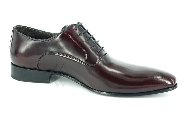 Мужские туфли 262-90 Lagerfeld Рептилия черный лак