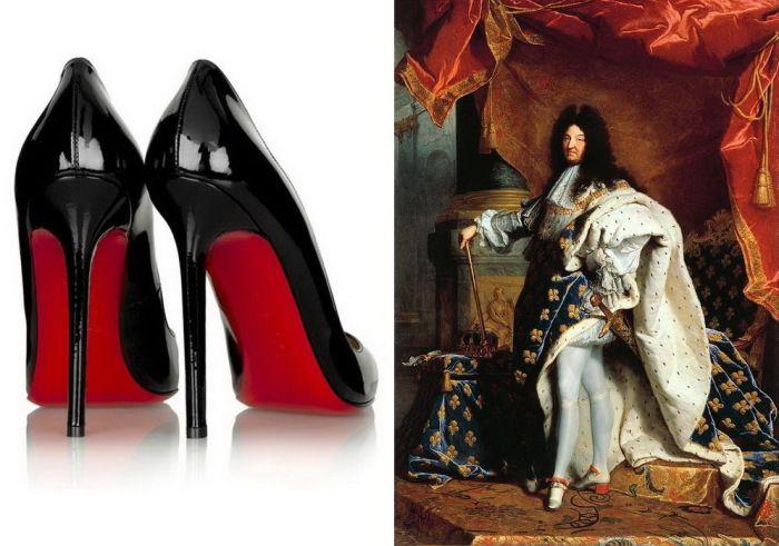 Туфли с красной подошвой: от Людовика XIV до Кристиана Лубутена