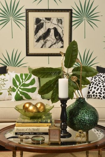 1000 Images About Palmetto Leaf Wall Art Stencil On Pinterest